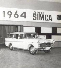 Simca Jangada Linha Tufao V8 - Simca do Brasil - Lançamento da Linha Tufão, em 1964 - Gentileza Hélène Pasteur