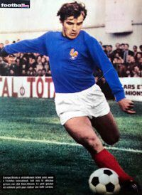 Georges Bereta of France in 1970s, Football, France, Google, Style, Fashion, Soccer, Swag, Moda