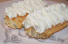 Eclere cu crema de vanilie - Pas 14