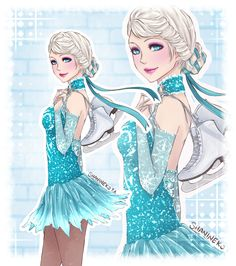 Princesas Disney esportistas - Just Lia Disney Fan Art, Disney Au, Disney And More, Cute Disney, Disney Girls, Disney And Dreamworks, Disney Style, Disney Frozen, Disney Pixar