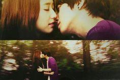 Image via We Heart It #drama #kiss #love #seoul #southkorea #parkshinhye #jungyonghwa #heartstrings