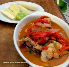 Sudado de pescado a la norteña (Para 4 personas) - Recetas de Comida Peruana