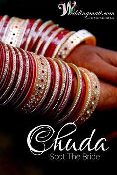 Mama ki saugat, Dulhan ka shagun……  #Weddingmatt #WeddingCollection #Chura  Shop From:- http://www.weddingmatt.com/