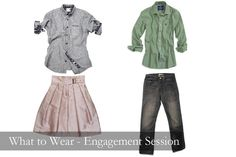 """What to wear """"E"""" session"""