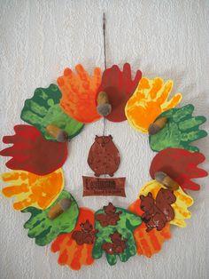Couronne d'automne http://nounoudescimes.canalblog.com/