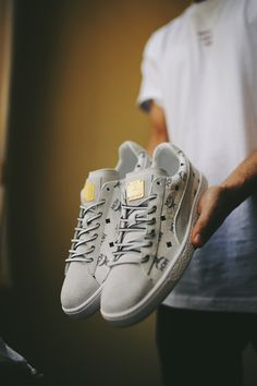 fc9b01f8c81 MCM x Puma Suede Classic 50 Pack. Basketball SneakersVans ...