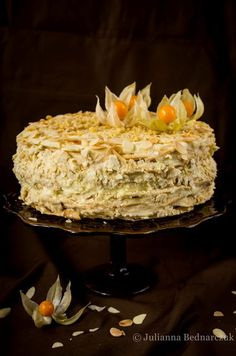 Obiad gotowy!: Napoleon - przepyszny rosyjski tort Menu, Cooking Recipes, Sweet, Desserts, Cos, Kitchens, Kuchen, Menu Board Design, Candy