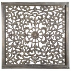 Carf Antique grey wall panel curl - Wandpanelen - Wanddecoratie - PTMD