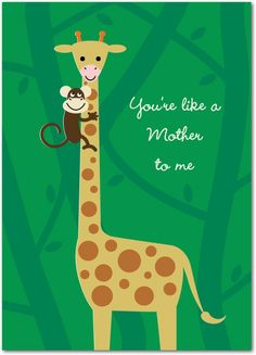 Another Mother - Mother's Day Greeting Cards in Spearmint | Design Collective