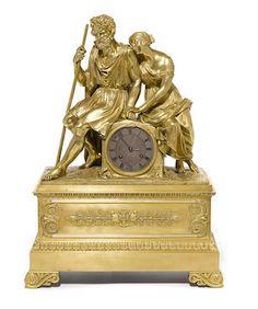 Bonhams : The Elegant Home reloj estilo luis felipe, segundo cuarto del siglo 19, 16 noviembre 2016.