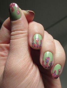 Funky Paint Dripping- Nail Art