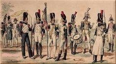 grenadiers à pied de la Garde Impériale de 1804 à 1814