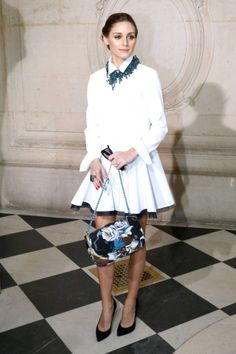 See all of the chic attendees sitting front row at Paris Fashion Week.