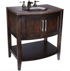 View the Thompson Traders VT Bowed Front Vanity from the Legacy Collection at FaucetDirect.com.