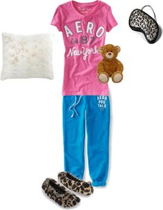 """Sleepover"" by zoesimone on Polyvore"