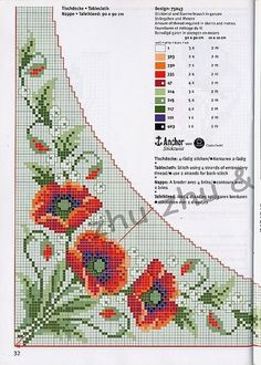 This Pin was discovered by Ann Wedding Cross Stitch Patterns, Easy Cross Stitch Patterns, Cross Stitch Borders, Cross Stitch Rose, Simple Cross Stitch, Cross Stitch Flowers, Cross Stitch Designs, Cross Stitching, Cross Stitch Embroidery