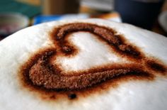How I Always Like My Cappucino - With Love and Thinking of You in the Morning ....