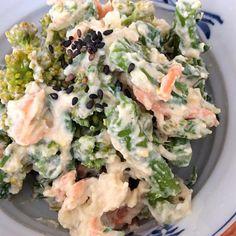 なばなシリーズ  ごま豆腐 白味噌 なばな 大根 人参  なばなが少なかったのでブロッコリーも加えました - 17件のもぐもぐ - なばなの白和え by rinriko