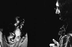 Paul McCartney and John Lennon, Trident Studios, London, 1968