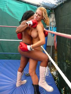 Final, naked female boxing message, matchless)))