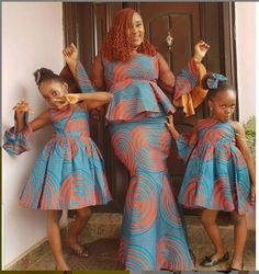 37 Traditional Ghanaian Ankara Dresses Styles Attires for African Women Baby African Clothes, African Dresses For Kids, African Wear Dresses, African Fashion Ankara, Latest African Fashion Dresses, African Print Fashion, African Attire, African Prints, Nigerian Fashion