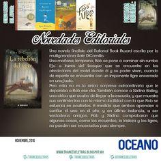 """""""La Rebelión del Tigre"""" de Kate DiCamillo"""