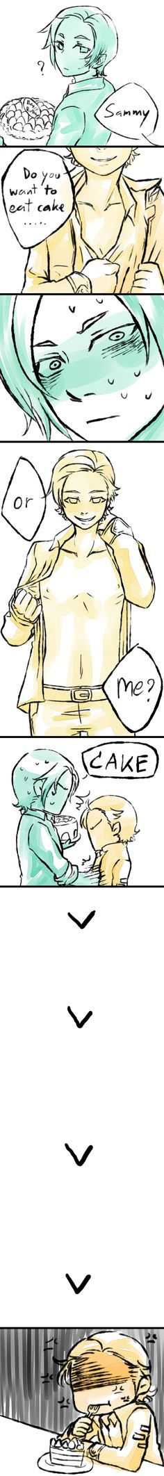 Cake or Me by ILsama