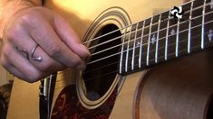 Folk Fingerstyle Patterns #1of2 (Folk Guitar Lesson FO-101) How to play