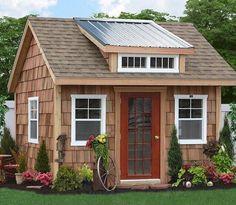 "556 отметок «Нравится», 2 комментариев — Living Tiny Project (@livingtinyproject) в Instagram: «""Backyard.  Shed by Sheds Unlimited, Gap, Pennsylvania ""  Post by @tinyhousemag  Tag…»"