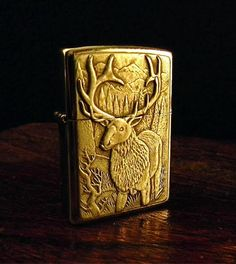 Iron Crow Rockin Vintage - Rare! 1998 Custom ZIppo lighter with SILVER Elk and mountain Scene Free Shipping! , $65.00 (http://www.ironcrowvintage.com/products/rare-1998-custom-zippo-lighter-with-silver-elk-and-mountain-scene-free-shipping.html)