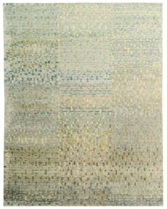 """""""Diderot' pattern rug by Luke Irwin, London, England. Established in 2003, Luke Irwin specialises in the design and manufacture of hand-knotted custom made rugs. Go to the site to see the immense selection of patterns that can be made to meet special customer specifications."""
