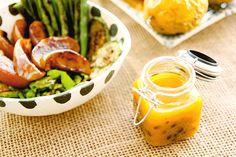 Molho de maracujá fácil para salada