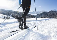 Visit a cross-country ski center with groomed trails, rent some gear, and try it out. Skiing Memes, Skiing Quotes, Xc Ski, Ski Gear, Ski Drawing, Nordic Skiing, Ski Jumping, Ski Season, Cross Country Skiing