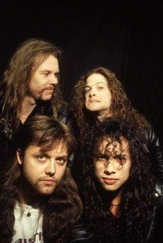 De très jeunes Metallica :)…