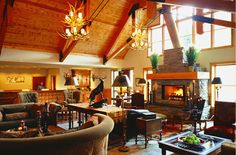 The Hotel Telluride: Comfy cozy lobby with fireplace – Telluride Fire Festival – pet resort Telluride Hotels, Telluride Colorado, Aspen Ski Resort, Aspen Hotel, Fire Festival, Hotel Lobby, Hotels And Resorts, Luxury Resorts, Ski Resorts