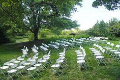 Amphitheater ceremony at Dyck Arboretum of the Plains in Hesston, Kansas. Outdoor Ceremony, Outdoor Decor, Prairie Garden, Happily Ever After, Botanical Gardens, Garden Wedding, Kansas, Wild Flowers, Acre