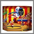 Activité cirque - Photobooth pour les enfants - Anniversaire drôle et ludique