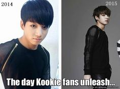 I'm SO not ready for 18 year old Jungkook -___-   #bts #Kookie                     Meme Center | allkpop