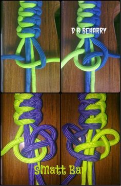 By Benedict Beharry #paracord #pictorial #tutorial #diy #paracordial by Deb O'Connor