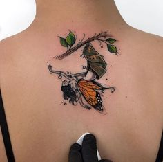 Cool Back Tattoo