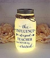 Personalized Teacher Gift, Teacher Gifts, Thank You Gift Teacher, Nite Light, Teacher Gift, Teacher Appreciation Gift, Mason Jar Light