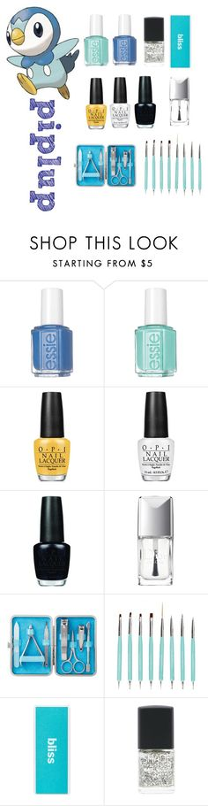 """""""pokemon beauty mania"""" by salomemonametsi ❤ liked on Polyvore featuring beauty, Essie, OPI, Christian Dior and Lane Bryant"""