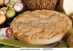 Pizza rustica, traditional Neapolitan cuisine recipe made for Easter.
