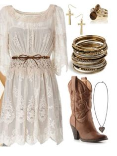 Miranda Lambert outfit♥ - womens classy dresses, short party dresses, mother o. - - Miranda Lambert outfit♥ – womens classy dresses, short party dresses, mother of bride dresses *ad Source by kneehighsocks Country Girl Dresses, Country Style Outfits, Country Fashion, Cowgirl Outfits For Women Dresses, Cowboy Girl Outfits, Country Girl Boots, Country Wear, Country Girl Style, Vestidos Estilo Country