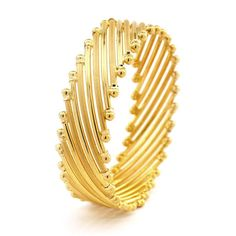 Gold Jewellery Designs Bangles - See more stunning jewelry at StellarPieces.com!