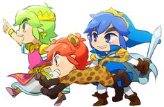 #TriForceHeroes by @ningukt