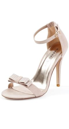 If white isn't your taste, these blush pink dress pumps from Madden Girl are a great option for you.