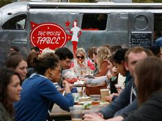 British Street Food Awards 2015: An aroma DJ (assisted by the OS Pro dispersal unit), a cake doctor... and free beer.