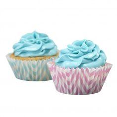 Cupcake Formen Chevron Divine 50 Stück