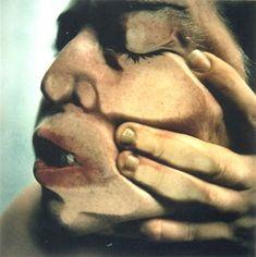 JENNY SAVILLE & GLEN LUCHFORD  Closed Contact #14, 1995-1996 // http://www.gagosian.com/exhibitions/january-12-2002--jenny-saville--glen-luchford